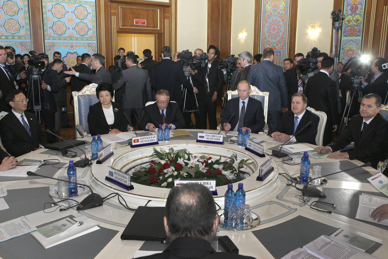 Заседание Совета глав правительств государств-членов ШОС