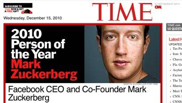 Скриншот страницы сайта журнала Time