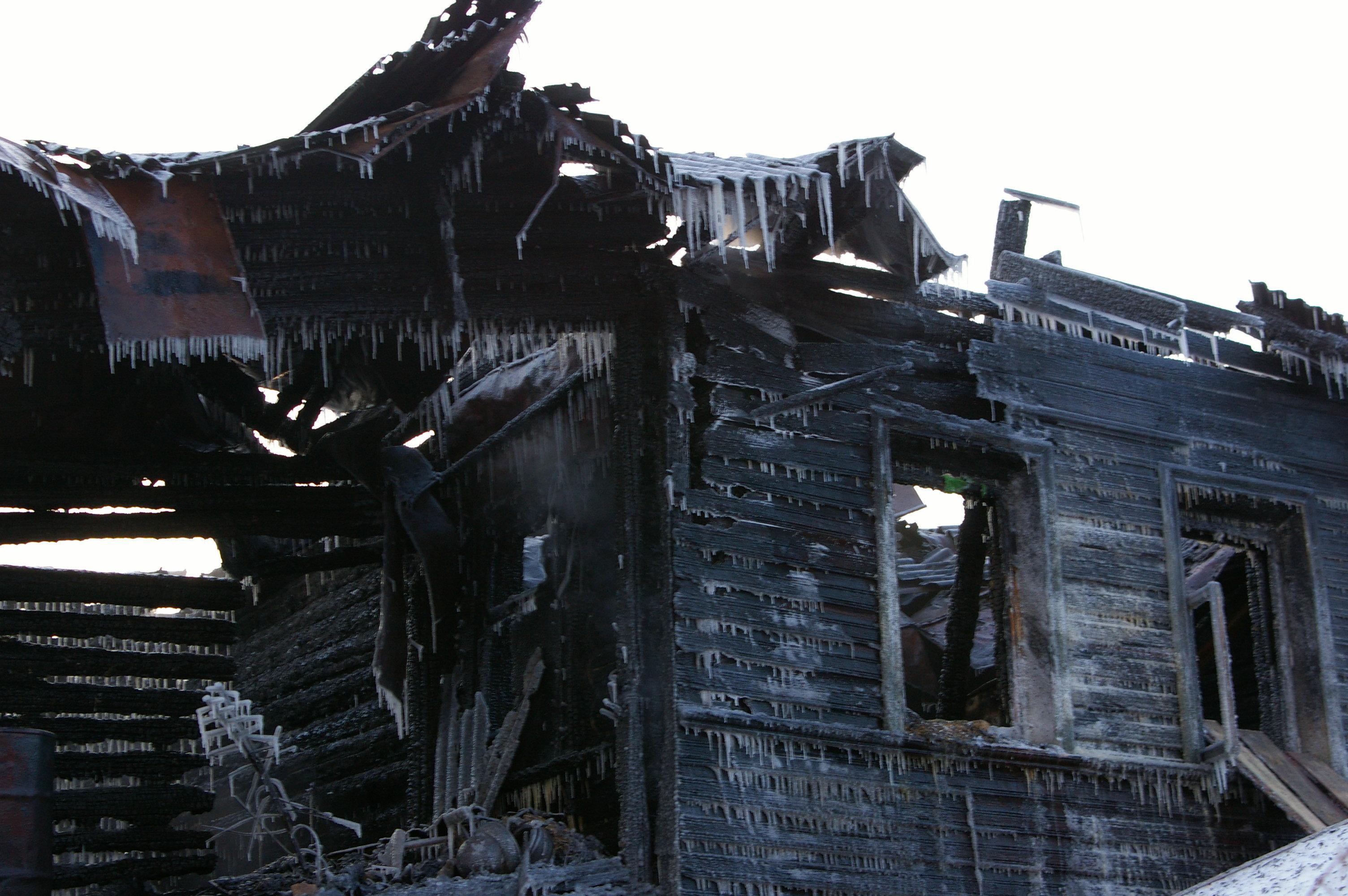 Пожар в Вологде