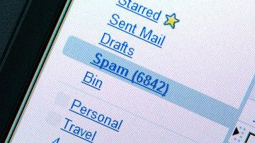 Спам, архивное фото