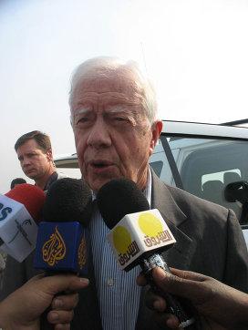 Экс-президент США Джимми Картер. Архивное фото.
