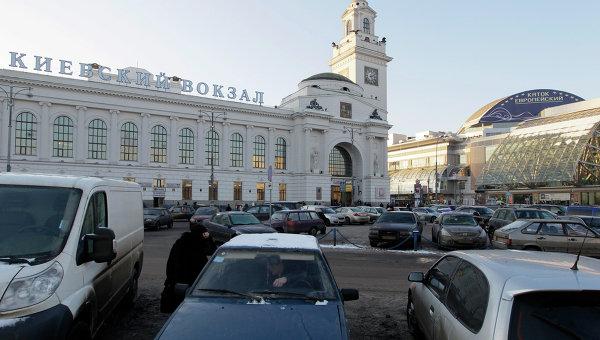 Площадь Европы у Киевского вокзала. Архивное фото