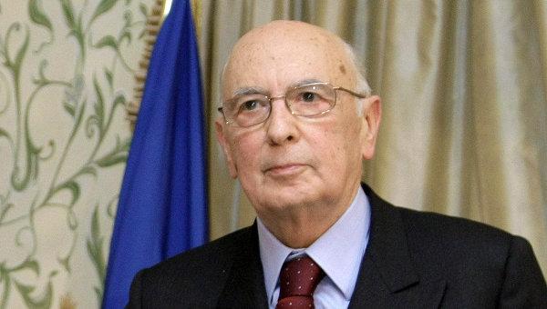 Джорджо Наполитано. архивное фото