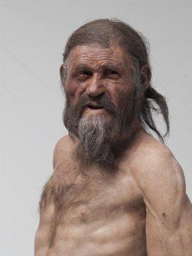 Ученые воссоздали внешний облик альпийского ледяного человека Отци, архивное фото