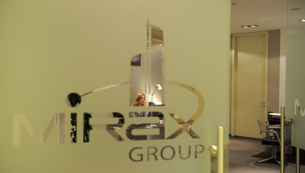 Офис Mirax Group в башне Федерация. Архив