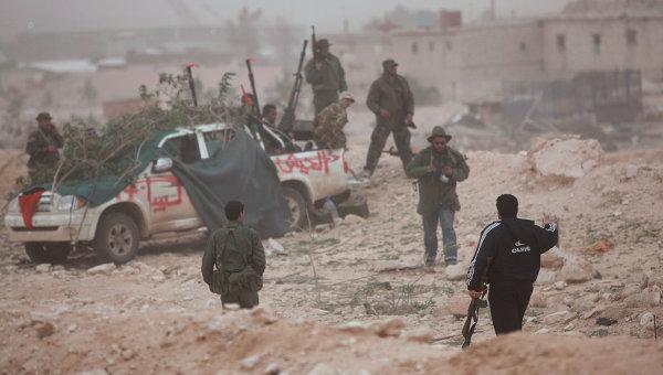 Войска оппозиции в Ливии