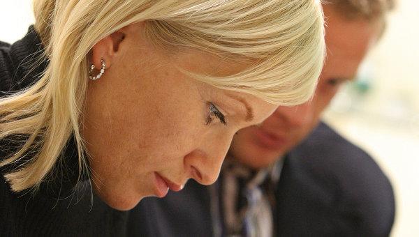 Марина Малафеева, жена вратаря ФК Зенит Вячеслава Малафеева