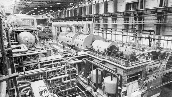 На атомной электростанции Пакш. Архив