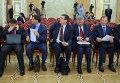 Московские чиновники в мэрии столицы