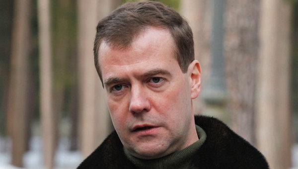 Президент РФ Д.Медведев выступил с Заявлением в связи с ситуацией в Ливии