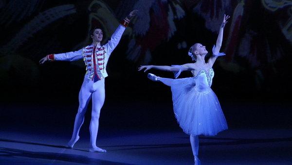 Студенты Московской государственной академии хореографии. Архивное фото
