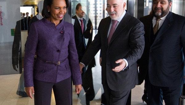Экс-госсекретарь США Кондолиза Райс посетила инновационный центр Сколково