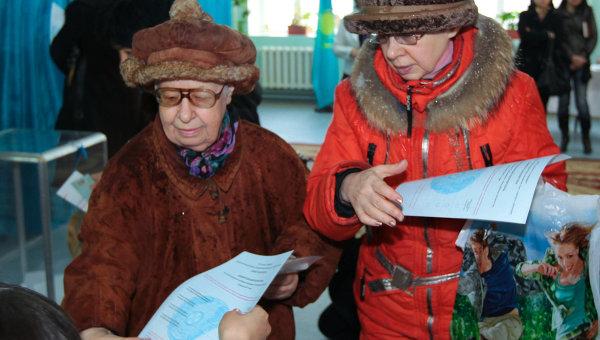 Выборы президента Республики Казахстан. Архивное фото