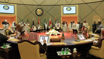 Заседание Совета сотрудничества арабских государств Персидского залива. Архивное фото.