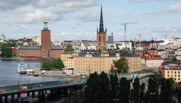 Стокгольм, Швеция. Архивное фото
