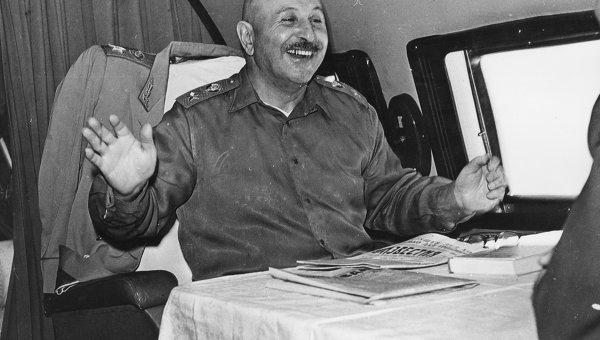 Улыбка маршала Баграмяна подкупала всех, 1966 г.
