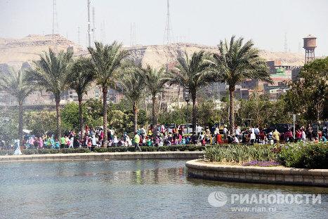 Египтяне отмечают древнейший праздник наступления весны