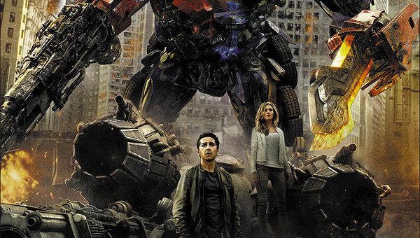 Постер к фильму Трансформеры, Обратная сторона луны