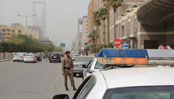 Дорожная полиция Саудовской Аравии