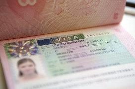 Британская виза. Архивное фото
