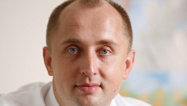 Вице-президент Бинбанка Александр Лукин