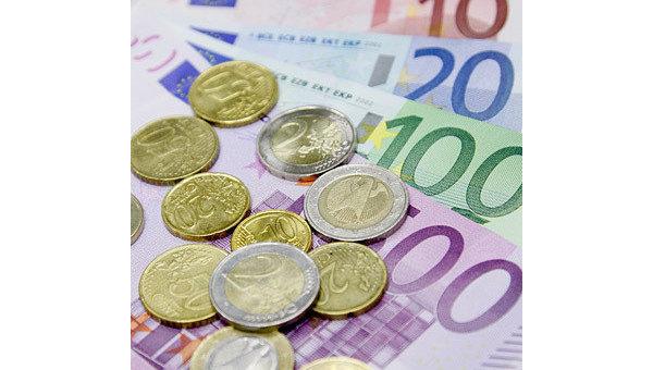 Евро, архивное фото.
