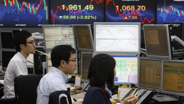 Торги фондового индекса Южной Кореи KOSPI. Архив