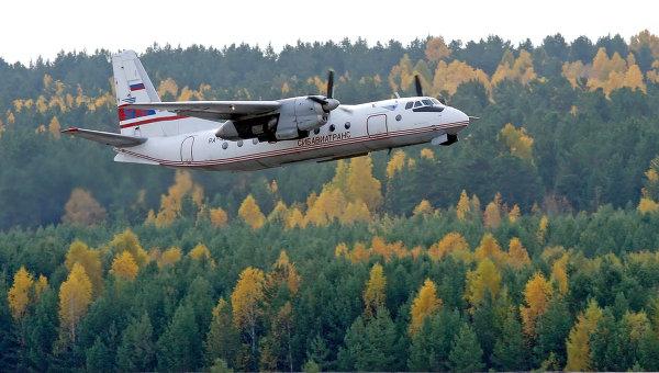 Самолет Ан-24. Архив