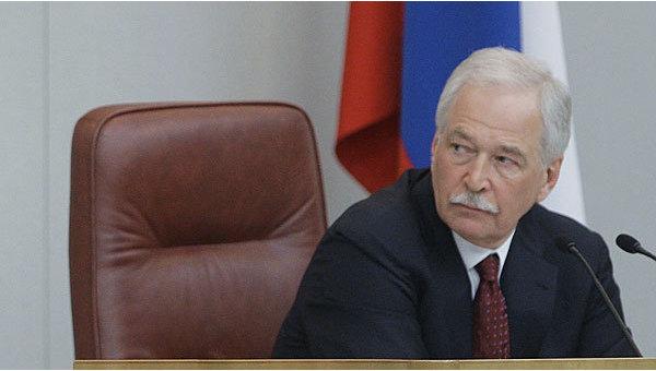 Председатель Государственной Думы РФ Борис Грызлов. Архив