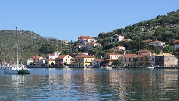 Греческий остров Итака