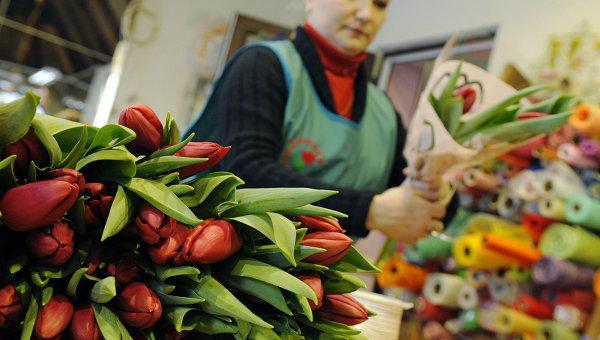 Продажа цветов. Архив