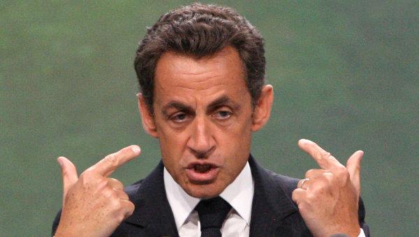 Президент Франции Николя Саркози. Архивное фото