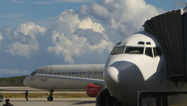 Самолеты в аэропорту Афин. Архивное фото