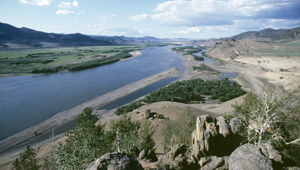 Река Селенга. Архивное фото