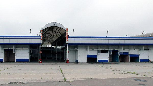 Территория бывшего Черкизовского рынка в Москве. Архивное фото