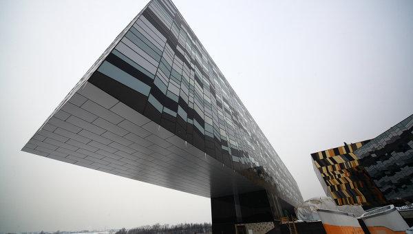 Здание Московской школы управления Сколково