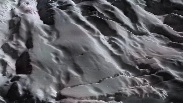 Реконструкция поверхности Энцелада. Архив