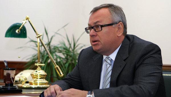 Президент ВТБ Андрей Костин. Архив