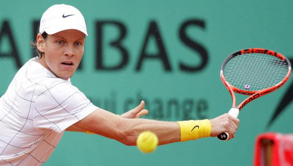 Чешский теннисист Томаш Бердых, архивное фото