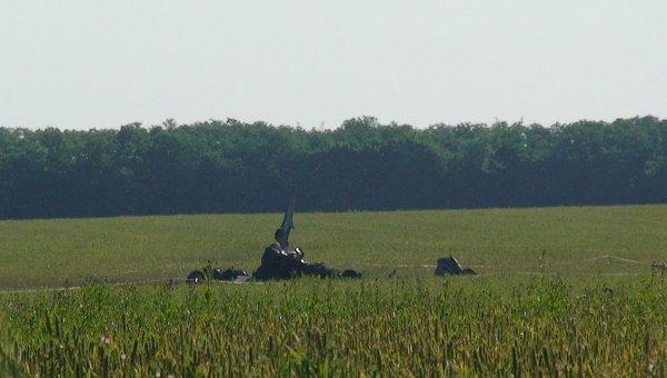 Падение Су-24 в Ростовской области