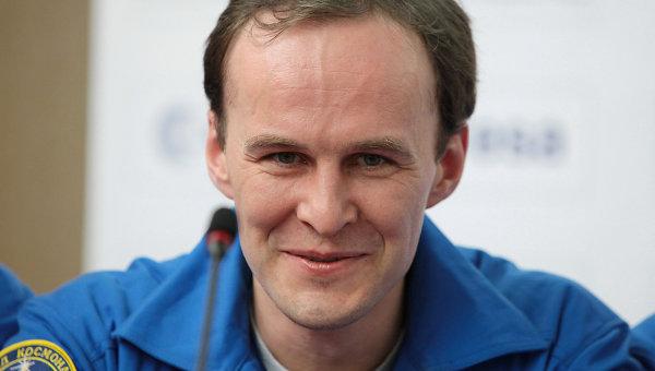 Командир экипажа, сотрудник ИМБП Сергей Рязанский. Архивное фото