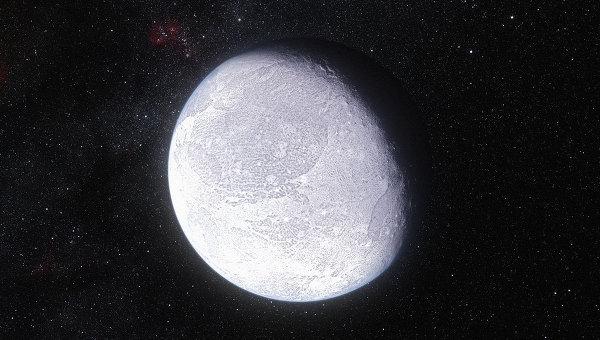 Карликовая планета Эрида глазами художника ESO/L. Calçada