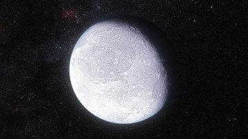 Карликовая планета глазами художника