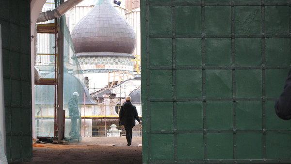Реставрация Воскресенского собора Ново-Иерусалимского монастыря