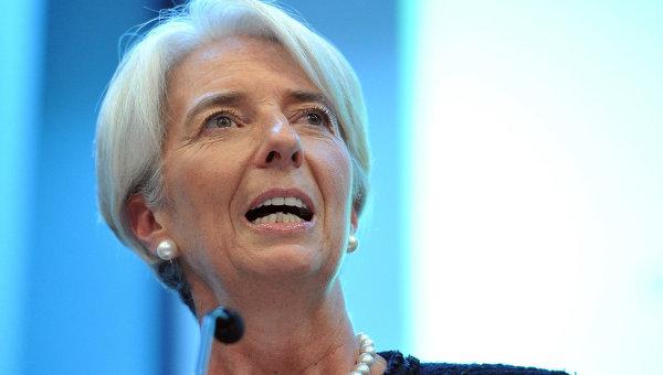 Лекция директора-распорядителя Международного валютного фонда Кристин Лагард. Архивное фото
