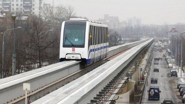 Пассажиропоток на московском монорельсе вырос до 4,1 млн человек в 2009 году