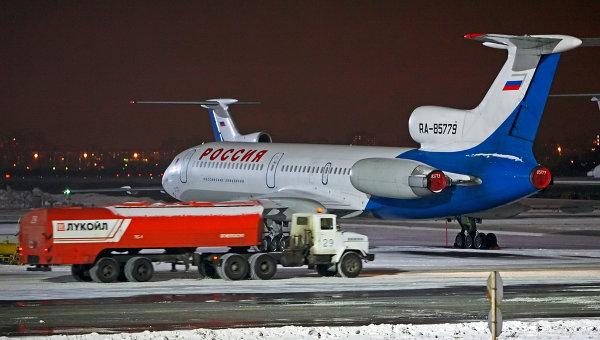 Самолет авиакомпании Россия в Пулково. Архивное фото