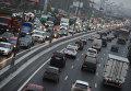 Движение автотранспорта на МКАД