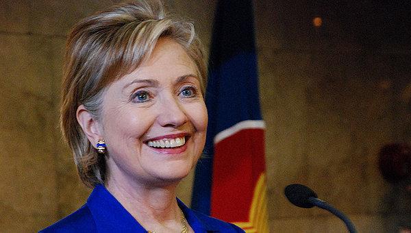 Экс-госсекретарь США Хилари Клинтон