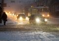 Сильный снегопад в Нижнем Новгороде
